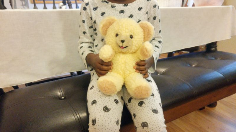 Rule #9: It's ok to say I'm sorry, even to a teddy bear.