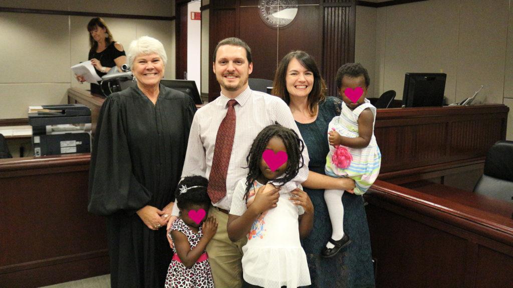 transracial adoptive family in st. louis